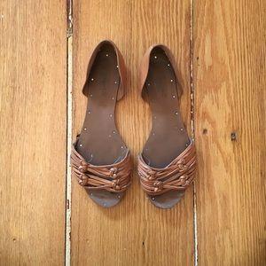Madewell Leather Flats